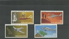 PAPUA NEW GUINEA SG220-223 50TH ANNIV OF AVIATION SET MNH