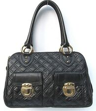 MARC JACOBS BLAKE QUILTED LEATHER SATCHEL SHOULDER BAG HANDBAG