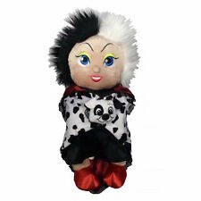 "disney parks 10"" baby cruella de vil plush toy with blanket new with tag"