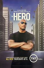 THE HERO Television Show Promo Advertisement Dwayne 'The Rock' Johnson