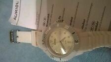 Neuf blanc auriol watch