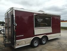 Catering Concession Trailer food truck custom built
