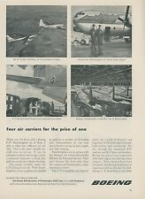 1952 Boeing Airplane Co. Ad C-97 Stratofreighter KC-97 Tanker Flying Hospital