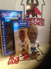 CORINTHIAN PROSTARS LEICESTER CITY ANDY IMPEY  CG146 GOLD BASE IN WINDOW BOX