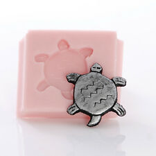 Turtle Tortoise Silicone Mould Mold Cabochon Jewelry Resin Clay Food Safe (833)