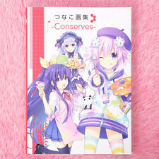 Hyperdimension Neptunia Tsunako Art Works Conserves Art Book Neptune