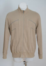 MENS BEN SHERMAN ZIP CARDIGAN JACKET JUMPER BEIGE SIZE XL XLARGE
