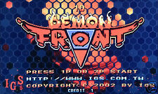 DEMON FRONT IGS PGM 2002 CARTRIDGE TESTED, GOOD WORKING