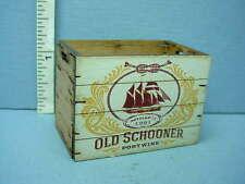 """Dollhouse Miniature Tall Assembled Crate """"Old Schooner"""" Laser Creations 1/12th"""