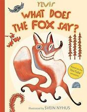 What Does the Fox Say?-ExLibrary