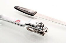Zwilling J.A. Henckels Manicure Nail Clipper & File 2pc Set with Leather Case