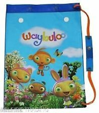 """NEW~""""WAYBLULO SWIM BAG - Great for swimming lessons-17""""x 12.75 D/Bag with handle"""