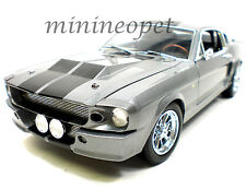 COLLECTIBLES 160 1967 SHELBY MUSTANG CUSTOM GT 500 1/18 ELEANOR GREY COLOR