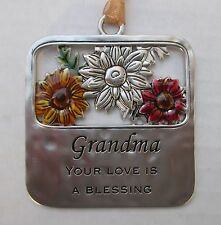 md Grandma your love is a Blessing BLESSINGS OF THE SEASON Ornament