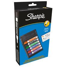 SHARPIE MARCATORE Lavagna Organizer - 6 x Proiettile Tip PENNE PLUS eraser