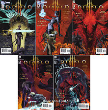 DIABLO III Sword of Justice (5) Issue SET #1 2 3 4 5 Comic 1st DC Blizzard Game