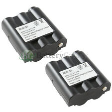 2 Two-Way 2-Way Radio Battery Pack 350mAh NiCd for Midland AVP-7 BATT5R BATT-5R