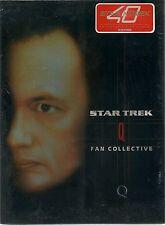 Star Trek Q Fan Collective Neu OVP Sealed Deutsche Ausgabe 4 DVD`s