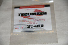OEM - 1 X TECUMSEH Dispstick Seal / O Ring Part 35499 - NEW OLD STOCK/NOS!