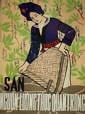 Propagande guerre du Vietnam Manioc Food Femmes Grand Poster Art Print bb2777a