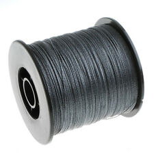 500M 100LB 4 Strands Super Strong Braided Fishing Line Black US