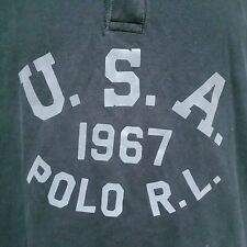 Polo Ralph Lauren Rugby Shirt Golf USA 1967 Bear RLPC Ball Sport Stadium XXL 2XL