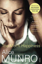 MUNRO,ALICE-TOO MUCH HAPPINESS BOOK NEW