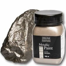 Nickel Metallic Paint 100ml Modern Masters Metallfarbe Metalleffekt Acryl