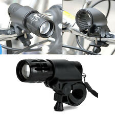 1X Led Lamp Flashlight Mount Holder Clamp Clip Grip Bracket For Bicycle Bike