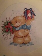 Noël forever friends cross stitch chart
