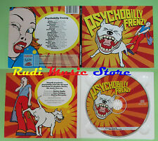 CD PSYCHOBILLY FRENZY compilation 2001 TOMATO JUICE NITKIE MOSQUITO (C21) no mc