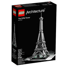 LEGO Systems 21019 Architecture Eiffel Tower, New in Box