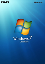 Microsoft Windows 7 Ultimate installation repair recovery x64bit DVD Bootable