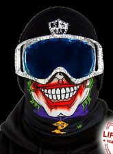 Salt Armour Twisty Jester Frost Tech Thermal Fleece Face Shield Balaclava USA