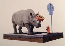 Josh Keyes - The Collector - Sold Out Limited Edition Print