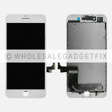 """White Touch Screen Digitizer + Display LCD Screen + Frame for Iphone 7 Plus 5.5"""""""