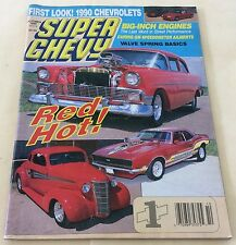 Oct 1989  Super Chevy First Look ! 1990 Chevrolets Magazine