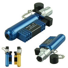 Practical Blue Jet Torch Windproof Cigar Cigarette Refillable Butane Gas Lighter