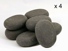HOT STONE MASSAGE: 4 Large Basalt Stones - 7.5 x 5.5 x 2.75 cm
