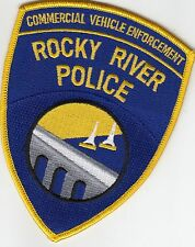 ROCKY RIVER POLICE COMMERCIAL VEHICLE ENFORCEMENT PATCH OHIO OH
