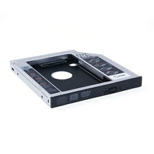 Universal 2nd CD/DVD-ROM HDD Hard Drive Caddy Tray SATA 12.7mm Optical Bay