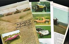 vintage DUNE BUGGY / Buggies Article: MEYERS MANX,VW,SHAKE,KYOTE,