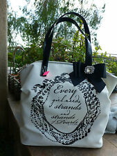 BRIGHTON NWT MY FLAT IN LONDON COATED CANVAS LARGE TOTE/PURSE