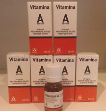 6 x Serum Retinol Vitamina A anti arrugas contra el acné anti-envejecimiento