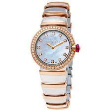 Bvlgari Lvcea Ladies 18 Carat Rose Gold Watch 102475
