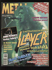 METAL SHOCK 215/1996 SLAYER MANHOLE JOHN PETRUCCI EXPLOITED SKREW THY NATURE