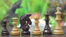 Weighted Staunton Chess Game Set Pieces 4Q Rose Wood chessbazaar FREE Shipping