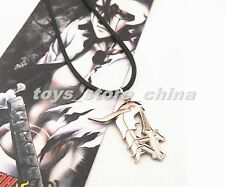 FreeShipping Anime Bleach 4 Blade Ulquiorra Schiffer Logo Necklace Pendant Metal