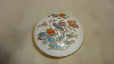 Wedgwood KUTANI CRANE Lidded TRINKET BOX Pot Fluted Sides 9.3cm