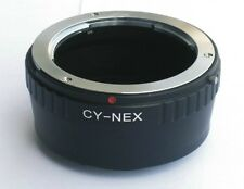 C/Y Lens Contax Yashica to Sony E Mount Adapter for NEX NEX-5 NEX-7 CY CY-NEX